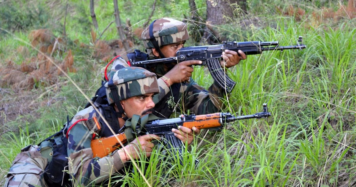 Ceasefire violation by Pak in Rajouri, Poonch, Indian Army retaliating
