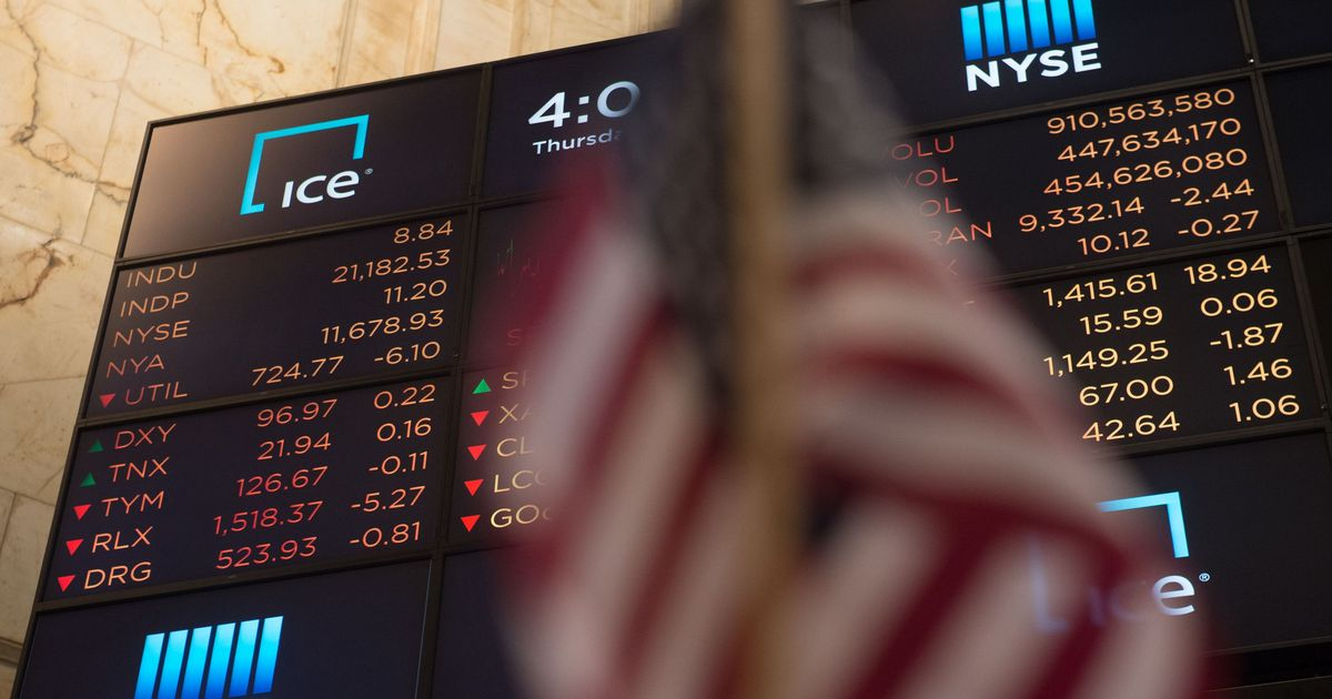 Data glitch triggers stock market confusion, shares of Amazon, Apple and Microsoft go haywire