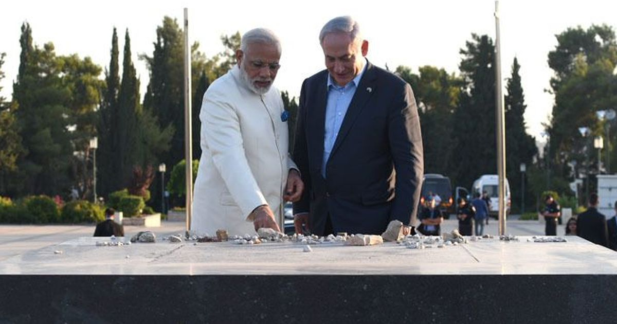 Narendra Modi embraces stronger links with Israel during historic state visit
