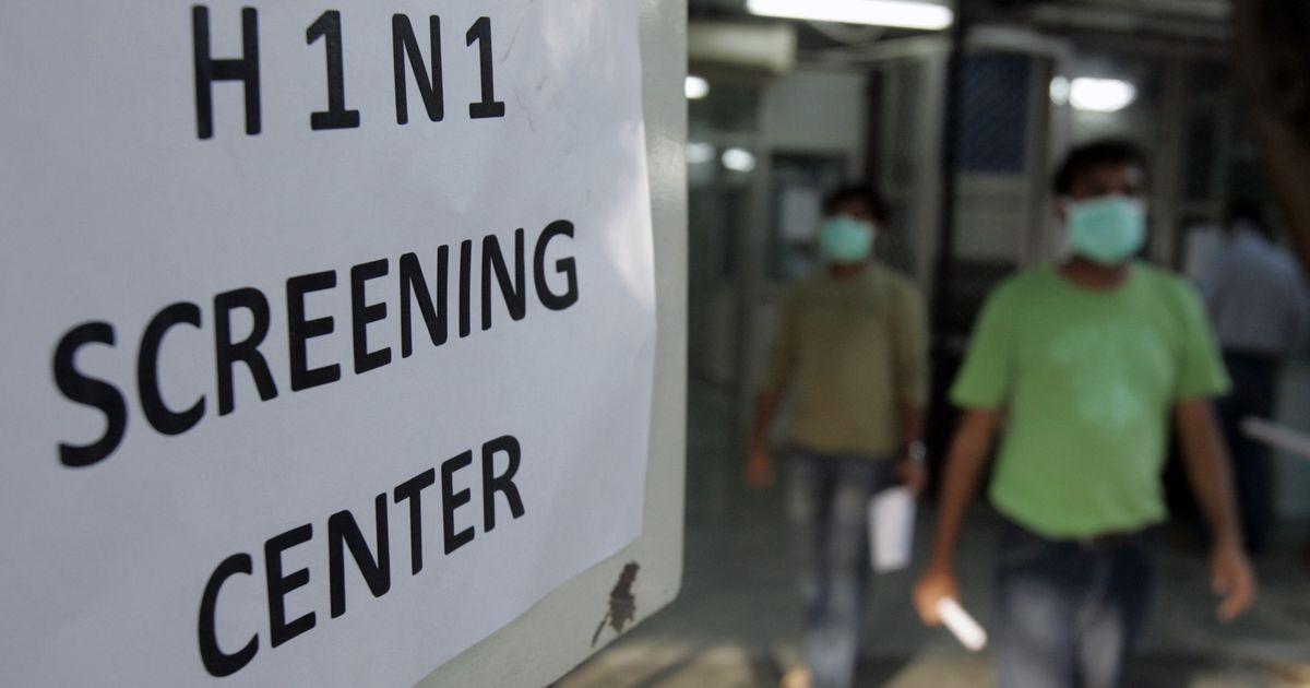 Patient with swine flu symptoms reported