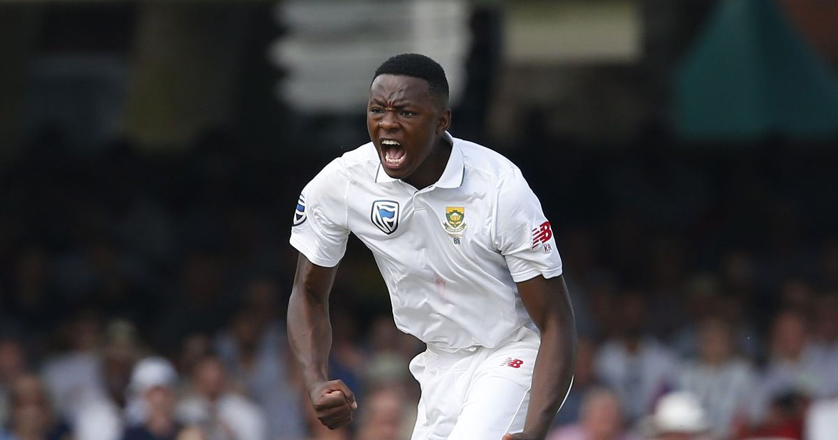 Rabada out of second test