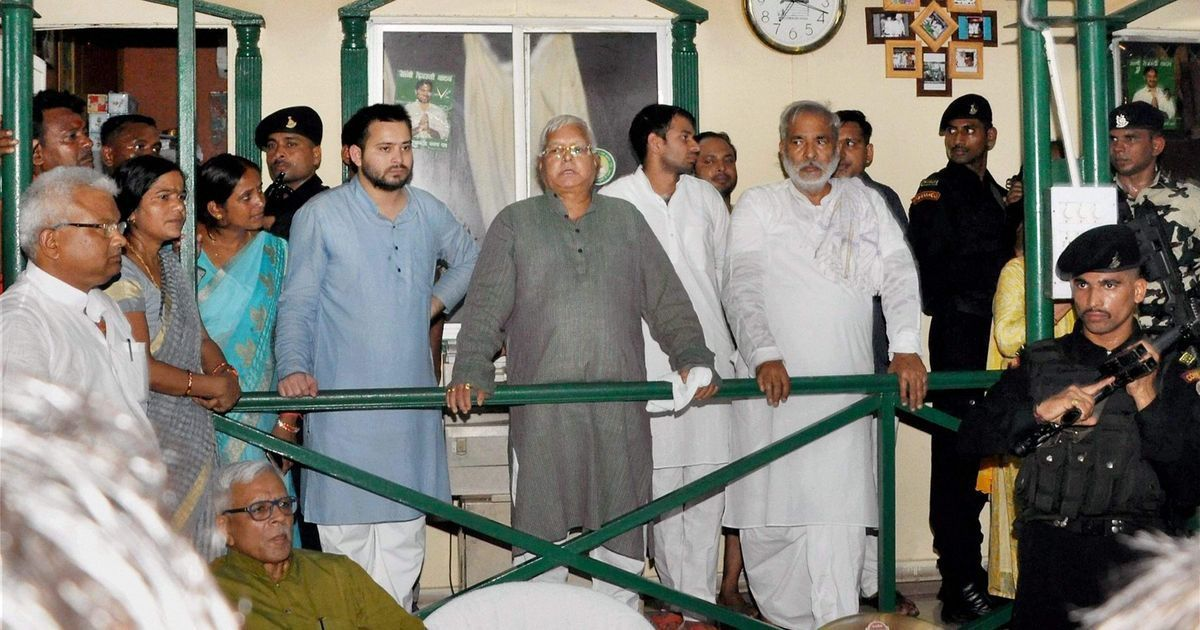 Opinion: Why the raids on Lalu Yadav should worry us about India's democracy