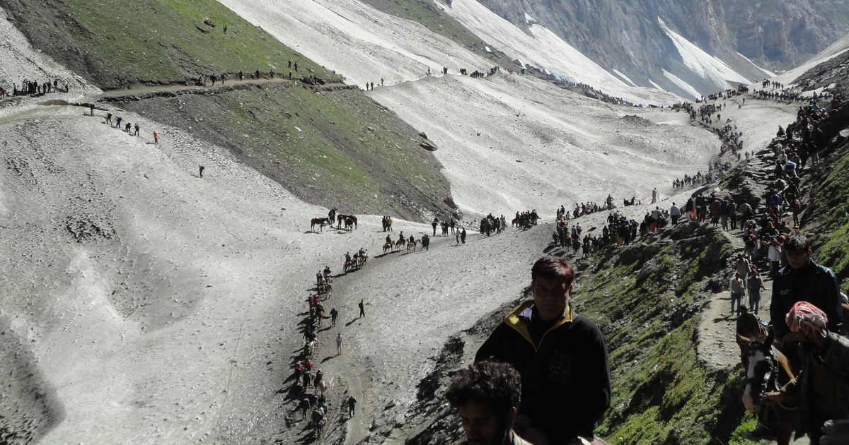 NGT declares Amarnath Cave as