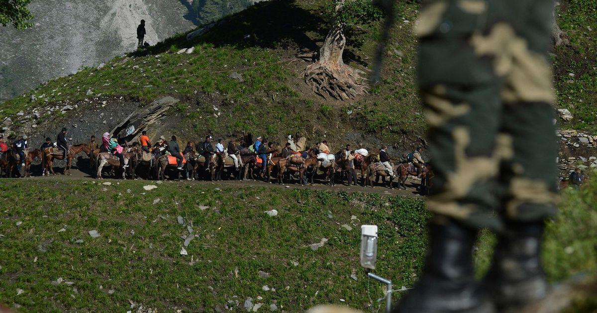 अमरनाथ यात्रा रद्द, सरकार ने श्रद्धालुओं को फौरन जम्मू-कश्मीर छोड़ने की सलाह दी
