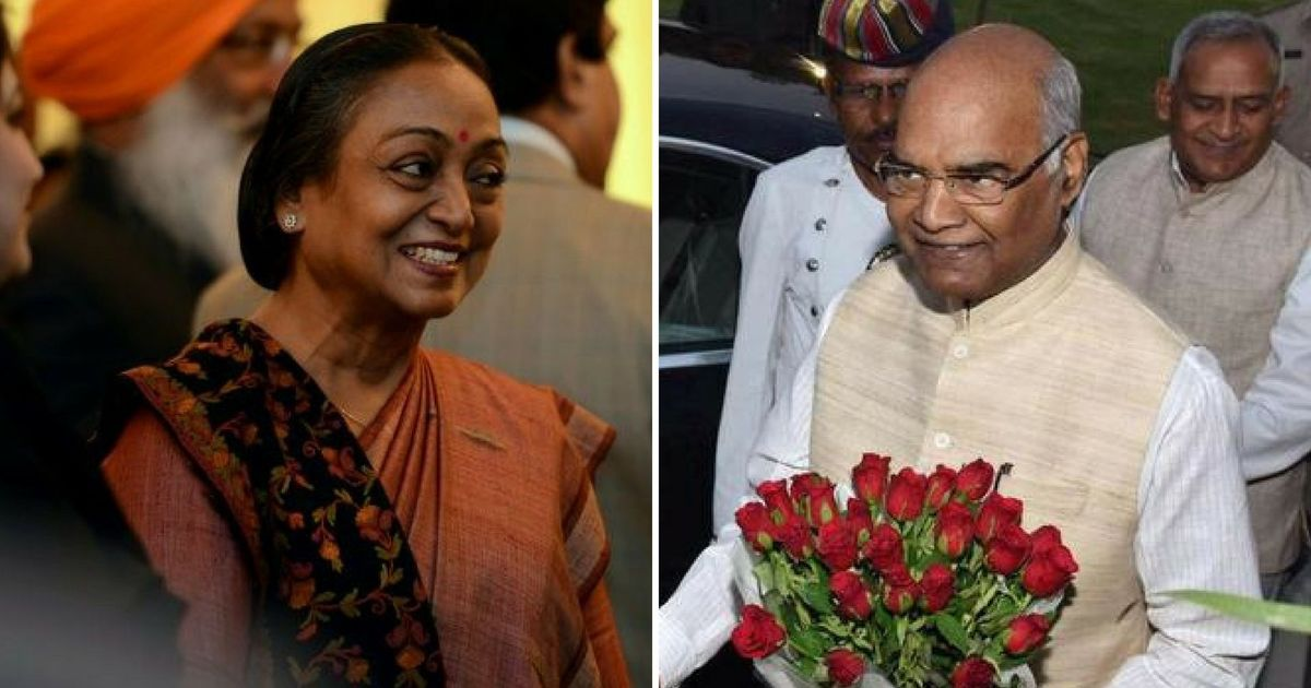 Prez poll today: Ram Nath Kovind vs Meira Kumar