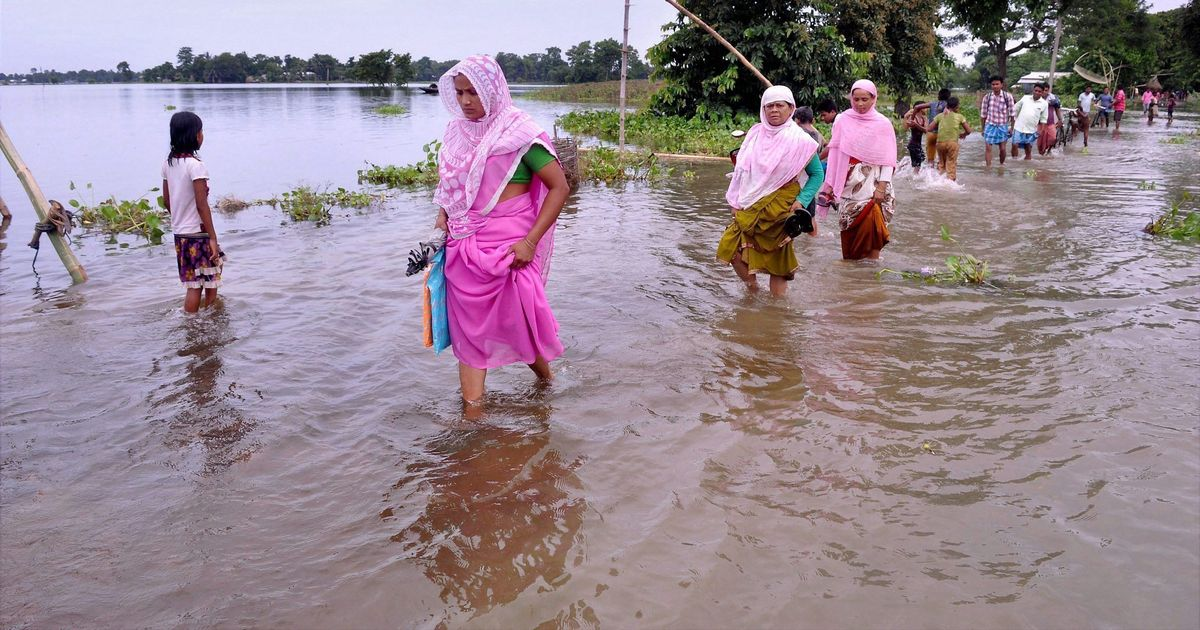 Assam flood toll rises to 44, five more killed