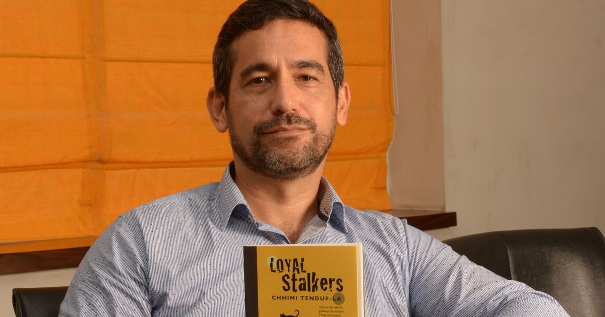 'I am drawn to terrifying things', says the novelist who feels squeamish seeing his name on his book