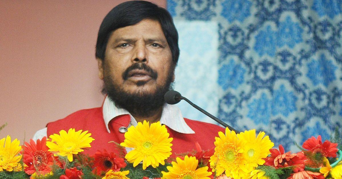 लोकसभा की तरह राज्यसभा और मंत्रिमंडल में भी एससी और एसटी को आरक्षण मिलना चाहिए : रामदास अठावले