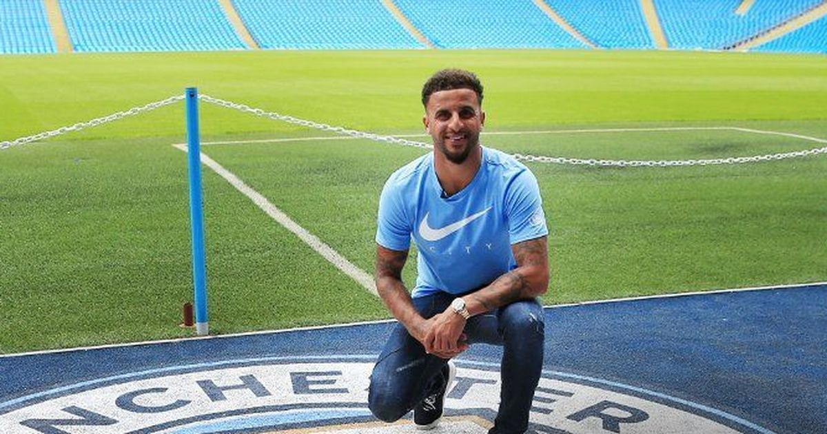 Image result for welcome kyle walker city