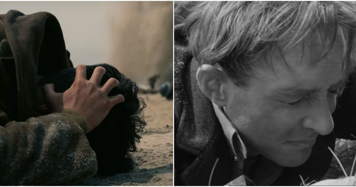 The Dunkirk evacuation on film before Christopher Nolan landed there