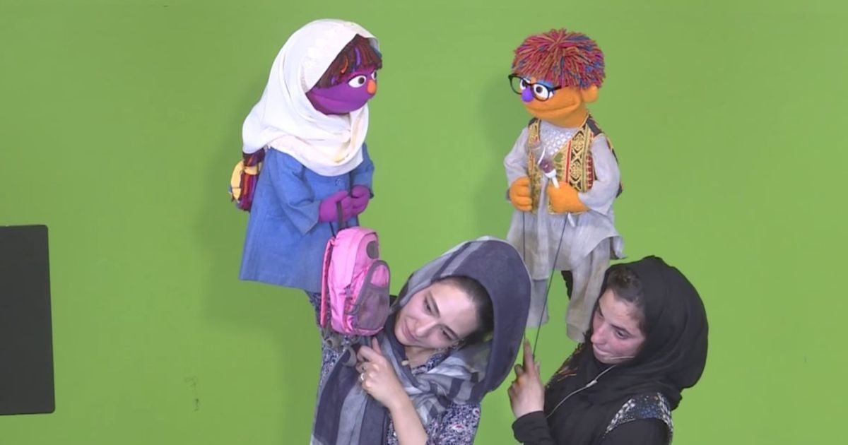 Watch: A brother-sister muppet duo is out to counter gender disparity in 'Sesame Street' Afghanistan