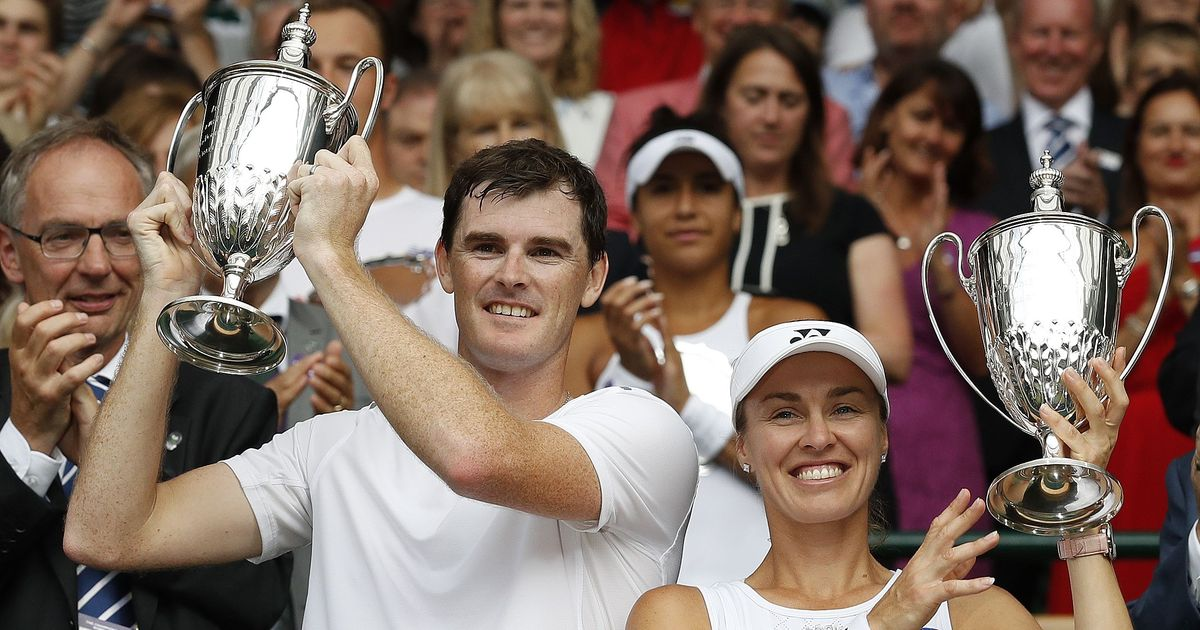 Wimbledon: Martina Hingis and Jamie Murray clinch mixed doubles title