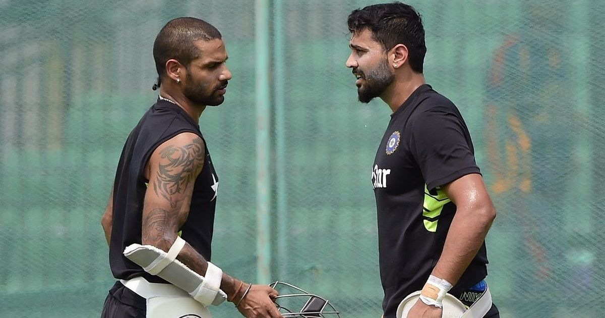 Dhawan to replace injured Vijay for Lanka Tour
