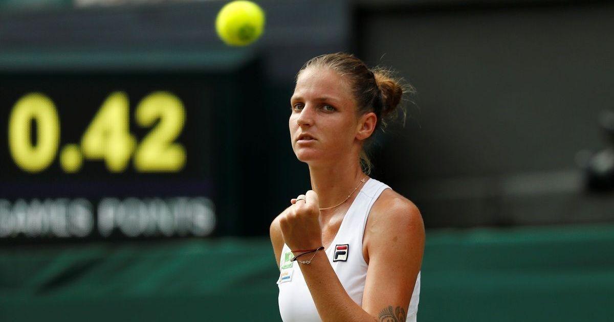 Karolina Pliskova stays world No 1, Kerber slips to third after fourth round exit in Wimbledon