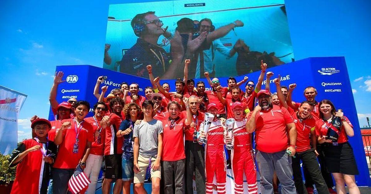Mahindra Racing clinch double podium at New York City ePrix