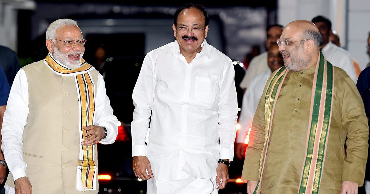 'Honouring millions by choosing farmer's son': Support pours in for Venkaiah Naidu as vice president