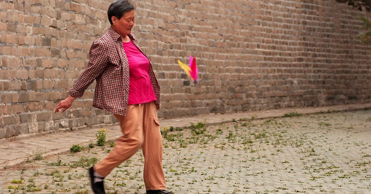 A guide to jianzi, a Chinese game with a shuttlecock (but no racket)