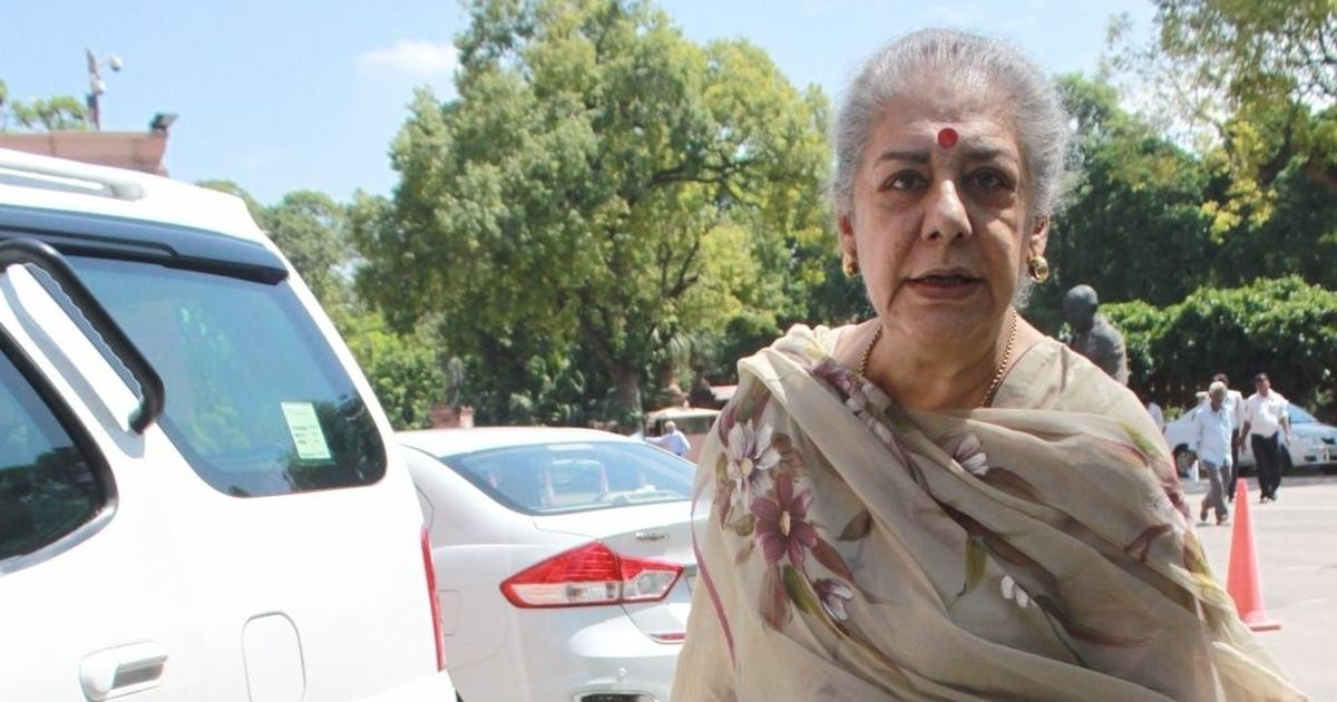 BJP corners Congress over Ambika Soni, Vaghela