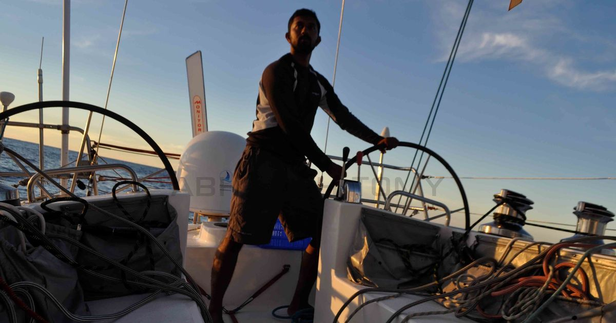 Abhilash Tomy, the first Indian to sail around the world non-stop, has something crazier in mind