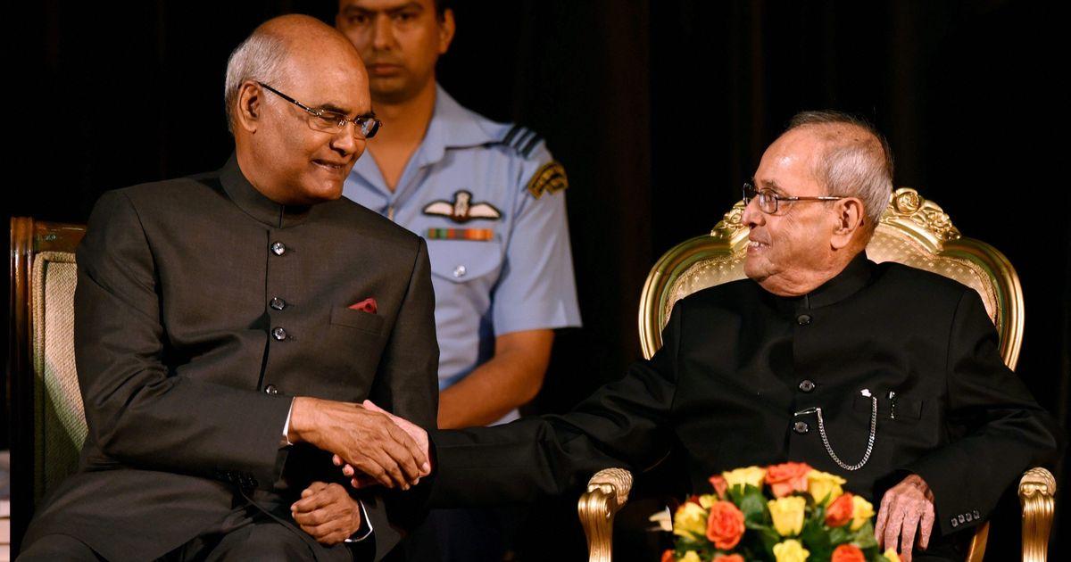 पूर्व राष्ट्रपति प्रणब मुखर्जी को भारत रत्न से सम्मानित किया गया