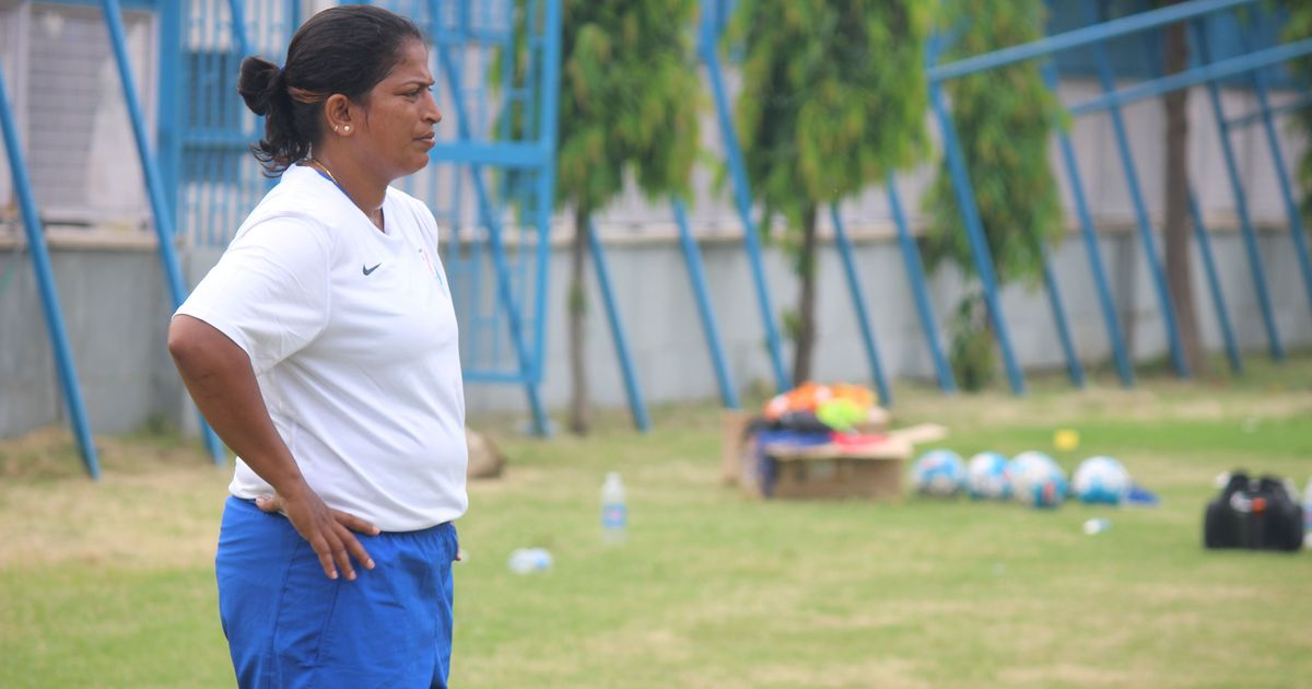 Newly appointed Indian women's football coach Maymol Rocky wants more games for her players