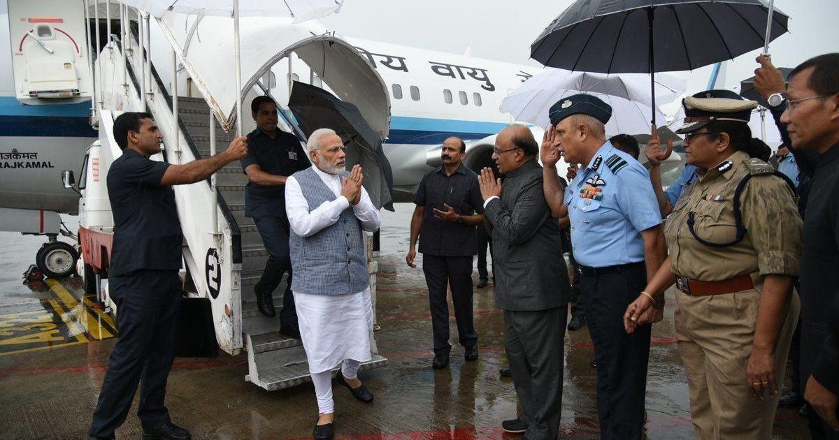Gujarat floods: Narendra Modi announces Rs 500 crore interim aid, Met department predicts more rain