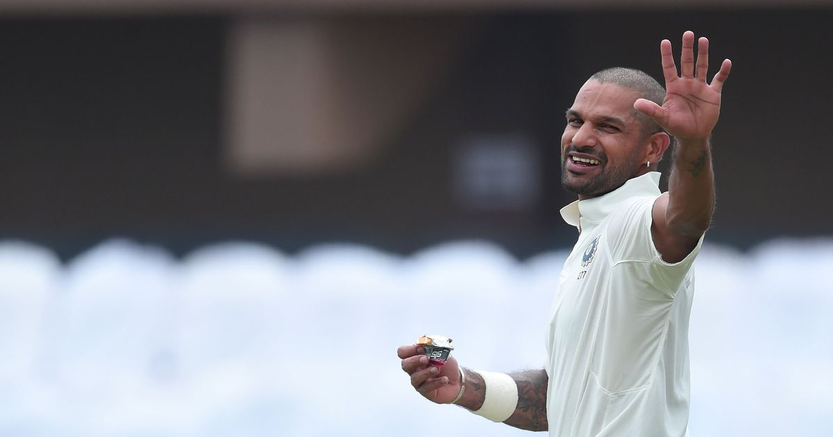 India opener Shikhar Dhawan moves to career-best 24th place in ICC Test rankings