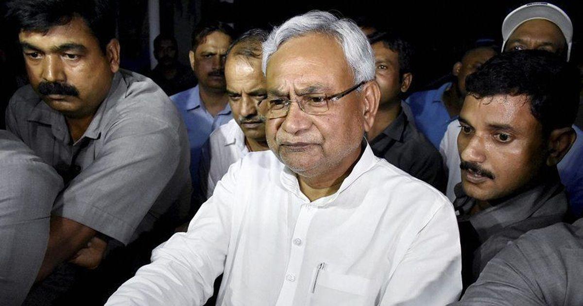 बिहार : मुख्यमंत्री नीतीश कुमार के काफिले पर पथराव, दो सुरक्षाकर्मी घायल