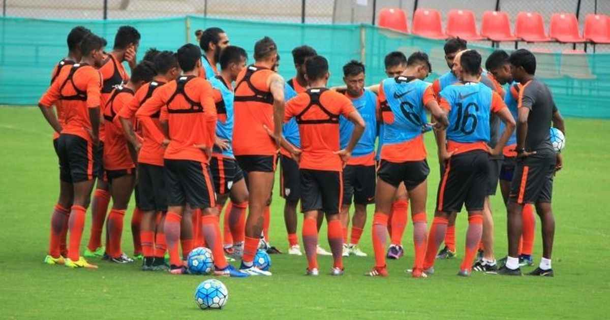 Indian football team drop one spot to 97th in latest FIFA rankings