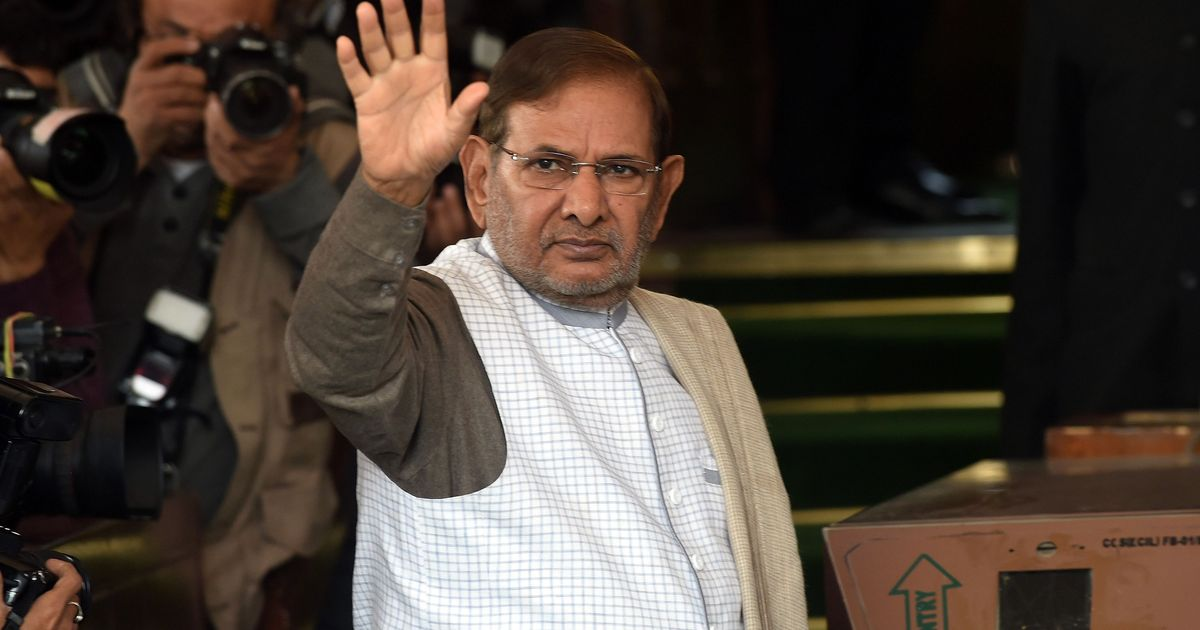 Victory despite 'toughest hurdles' JD 's Sharad Yadav congratulates Congress leader Ahmed Patel