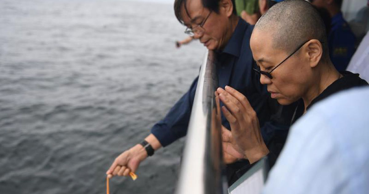 China has forced Nobel laureate Liu Xiaobo's widow to disappear, claims their lawyer