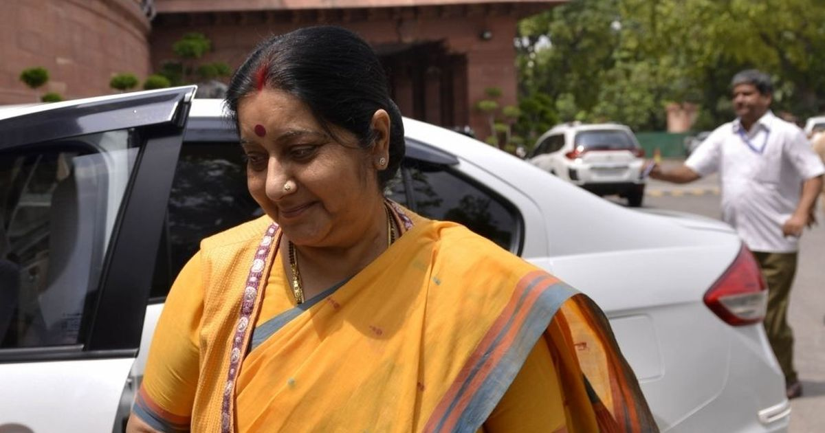 War is not the way to solve problems between countries, says Sushma Swaraj
