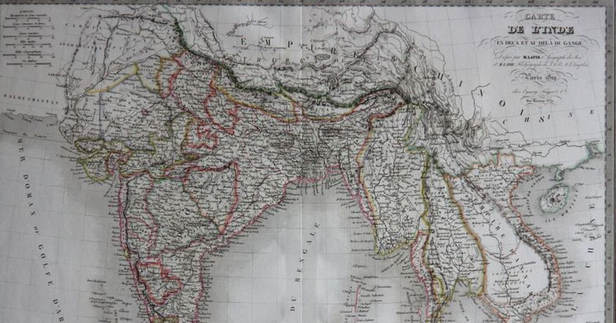 Border wars: How European colonisers used maps to define and build on india colonial period, india before 1947, india 1800s, india in 1947, india split, india and pakistan conflict 2013, india and pakistan history, india before pakistan, india pakistan migration, india and pakistan independence, india during british rule, india pakistan 1947, india after partition, india after independence,