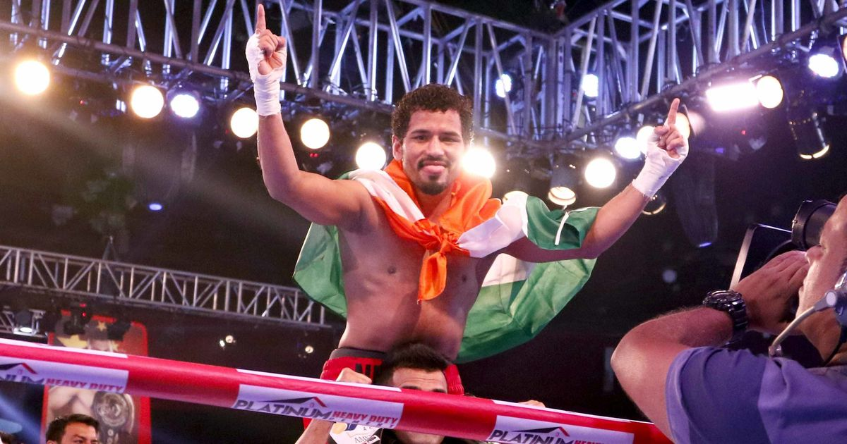 Neeraj Goyat retains his WBC Asia Welterweight title after a win by unanimous decision