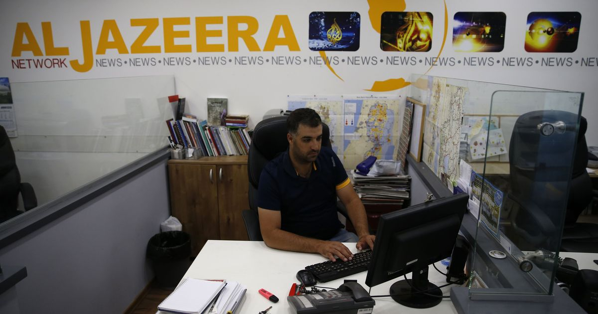 Israel moves to close Al Jazeera's offices over 'support for terrorism'