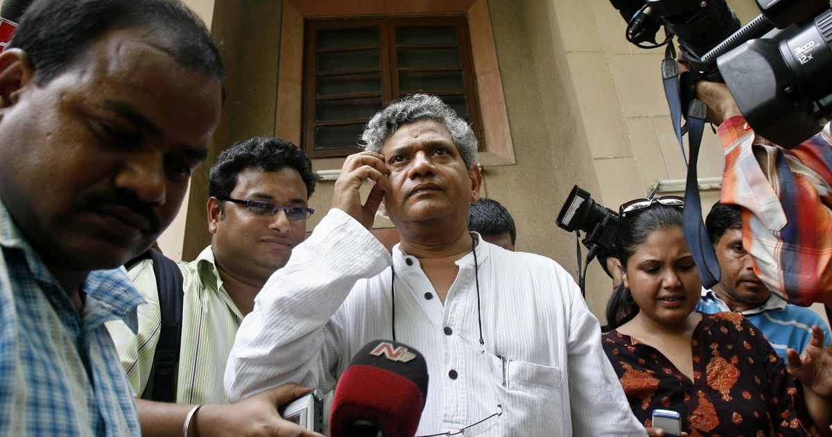 Impeachment motion against CJI: Yechury discusses possibilities with other parties