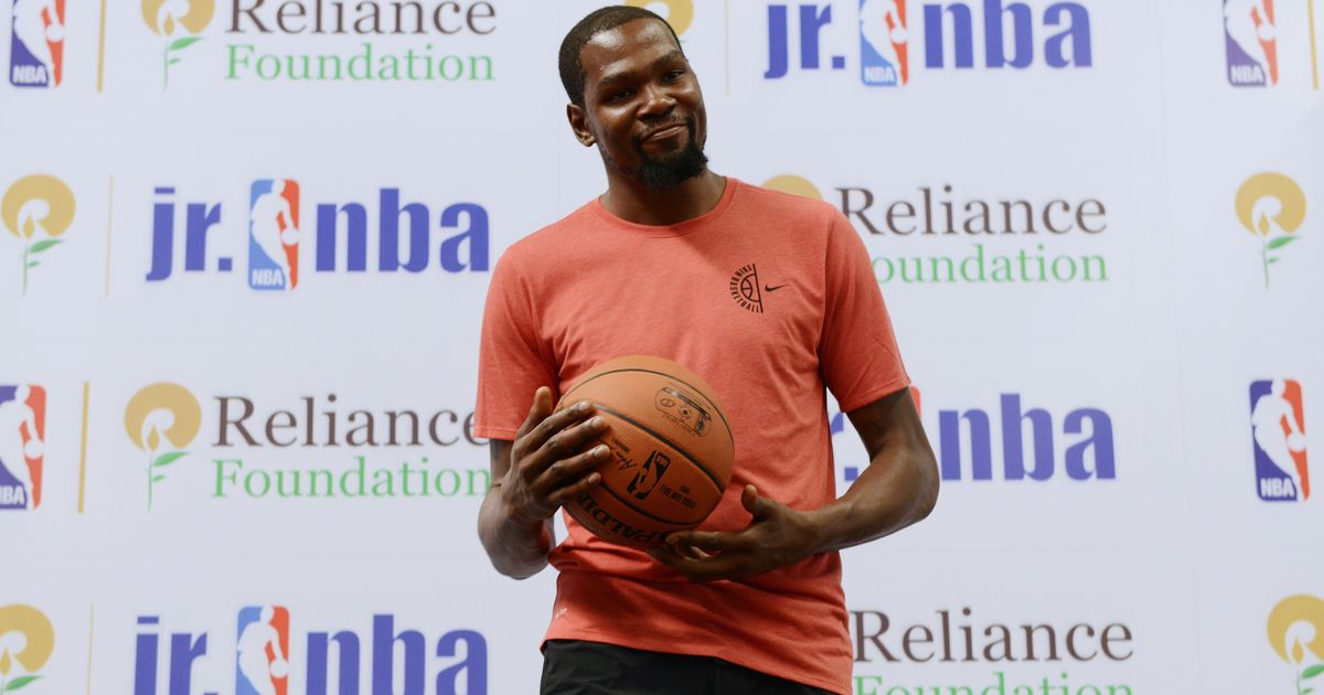 'A country that's 20 years behind': NBA star Kevin Durant on his recent trip to India
