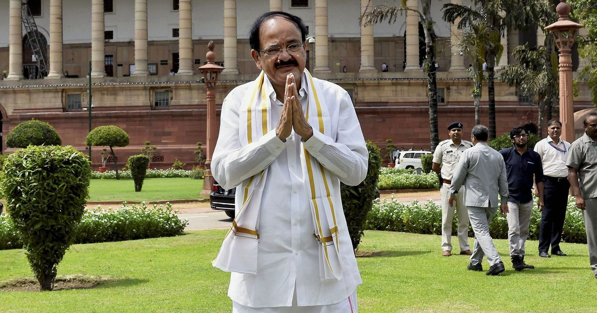 The big news: Modi says Venkaiah Naidu will help Indian polity improve, and nine other top stories