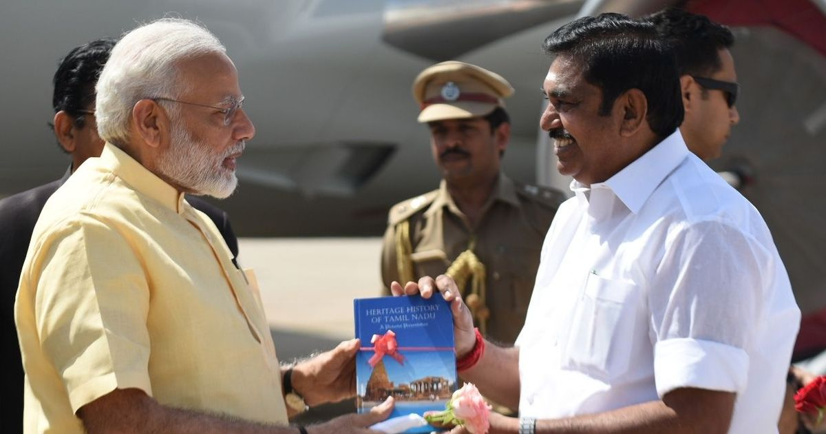 No talks on AIADMK merger, says Tamil Nadu CM Palaniswami after meeting Modi in Delhi
