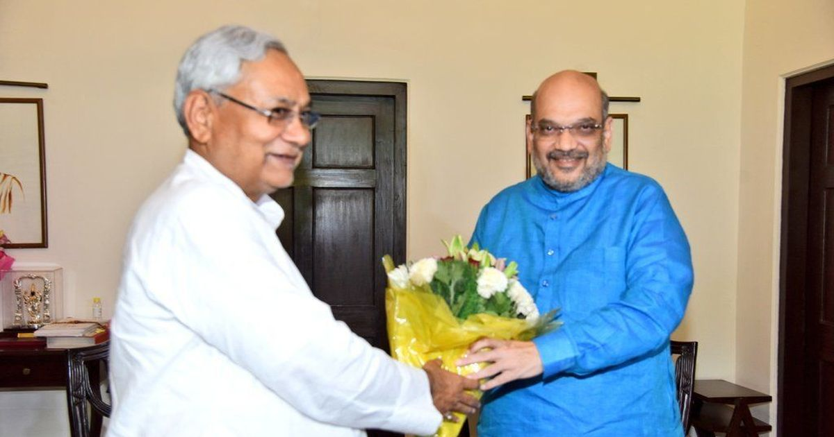 BJP chief Amit Shah invites Nitish Kumar to join the NDA government