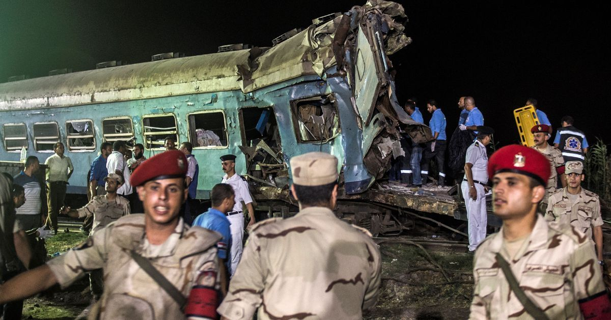 Egypt: At least 42 killed, 133 injured as trains collide in Alexandria