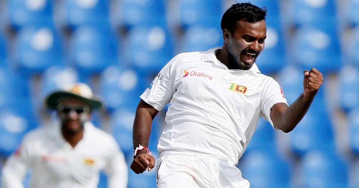 Pushpakumara, Sandakan pull India back after Shikhar Dhawan's century on Day 1 of 3rd Test