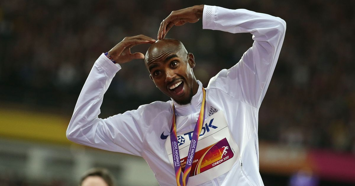Silver lining for Mobot: Mo Farah narrowly misses out on gold in his final race