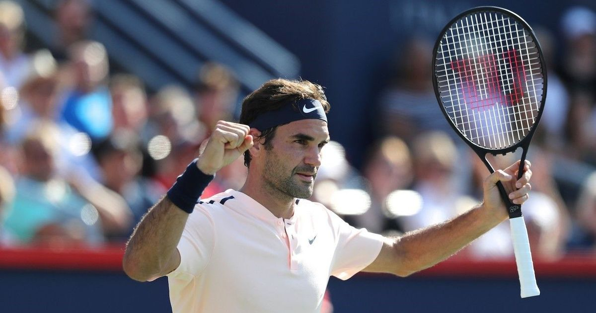 Roger Federer continues his march to reach the Montreal Masters' final