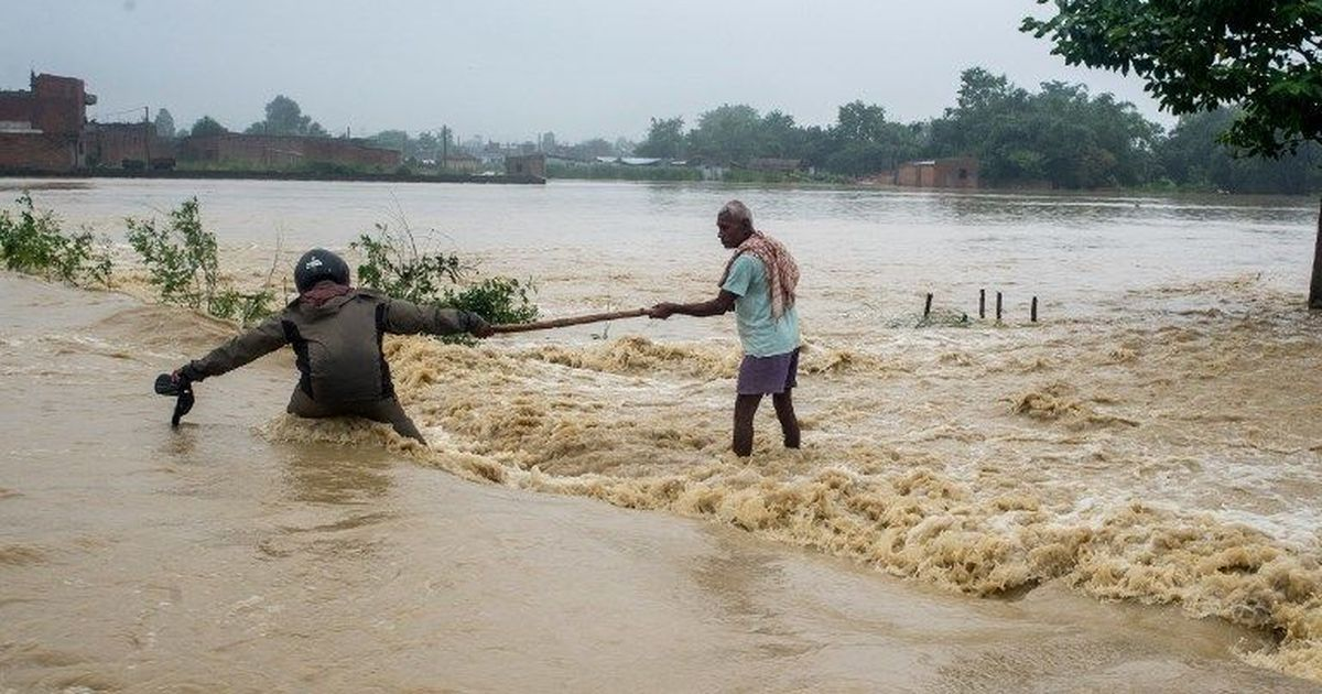 Deadly Flooding, Heavy Rainfall in Nepal Strands Hundreds