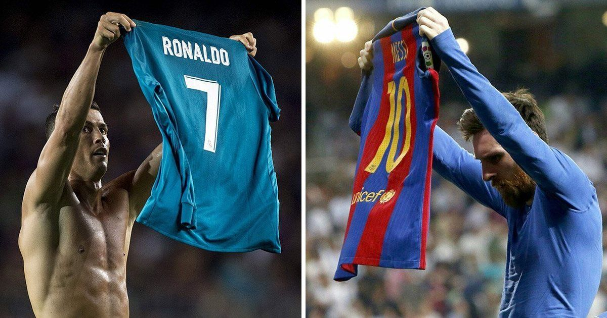 reputable site db922 8c0e2 How the Cristiano Ronaldo – Lionel Messi rivalry has ...