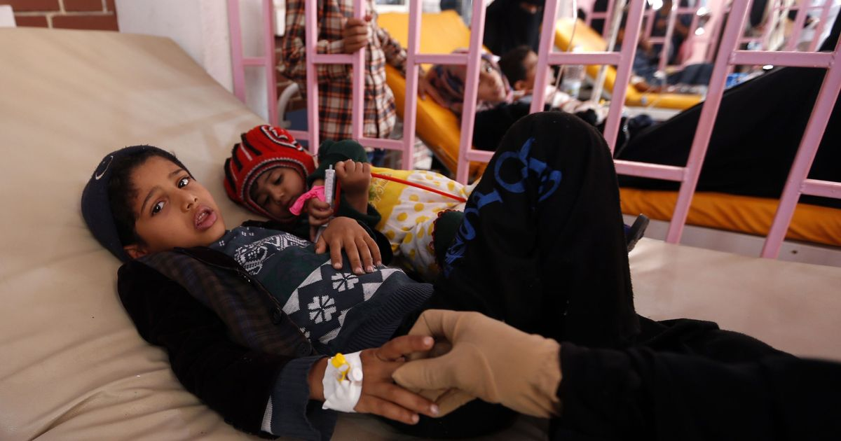 Yemen's cholera epidemic surpasses half-million suspected cases, United Nations agency says