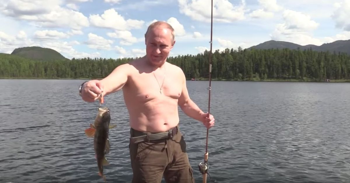 Putin Angeln