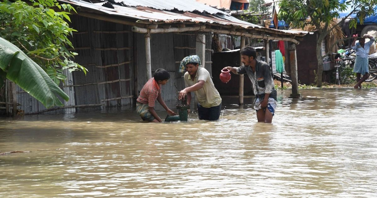 Flood situation worsens in Bihar, 10m hit