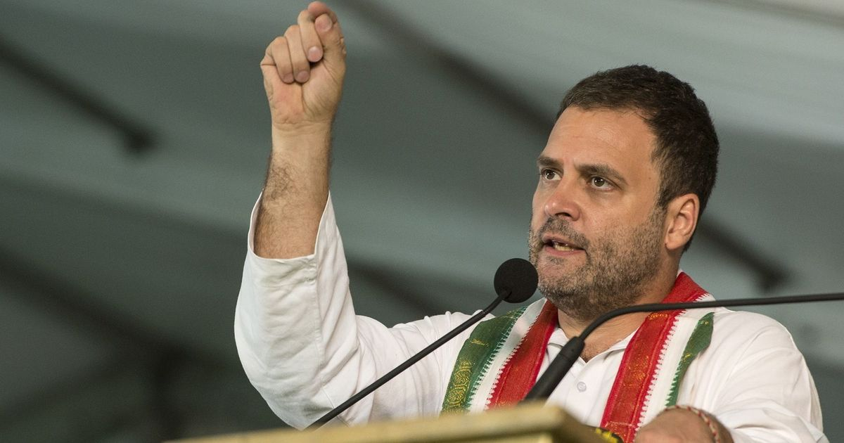 Jay Shah's company rose from the ashes of demonetisation, says Rahul Gandhi in Gujarat